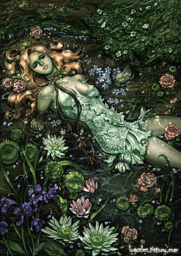 ophelia by logosles