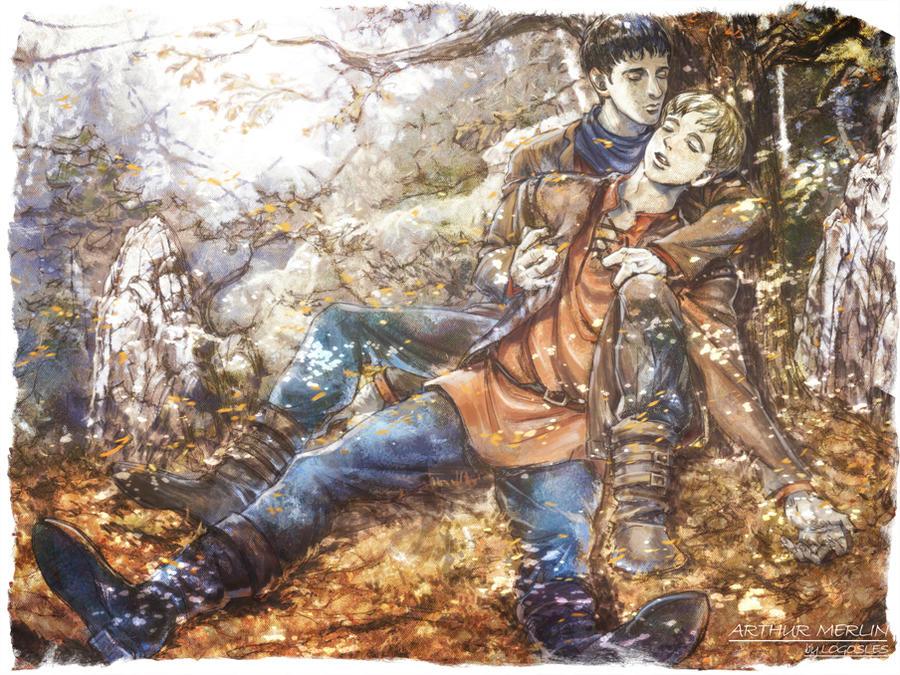 Merlin Arthur the requiem by logosles