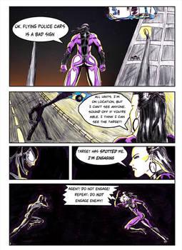 Kate Five vs Symbiote comic Page 2