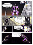 Kate Five vs Symbiote comic Page 2