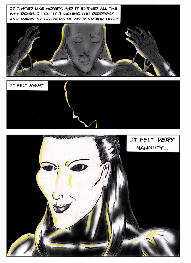 Kate Five vs Symbiote comic Page 4