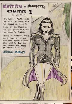 Kate Five vs Symbiote comic Page 24