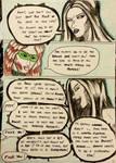 Kate Five vs Symbiote comic Page 88