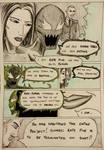 Kate Five vs Symbiote comic Page 101