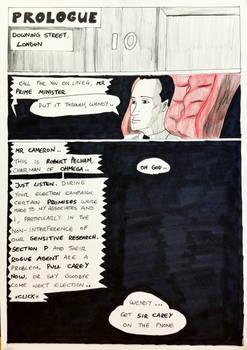 Kate Five vs Symbiote comic Page 117