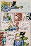 Kate Five vs Symbiote comic Page 145