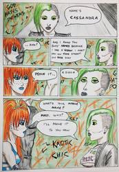 Kate Five vs Symbiote comic Page 161 by cyberkitten01