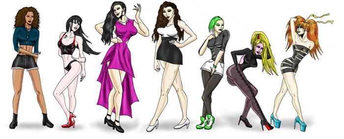 The Ladies of the cyberKittenVerse! by cyberkitten01