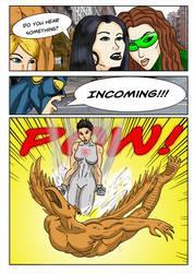 Kate Five vs Symbiote comic Page 190 by cyberkitten01