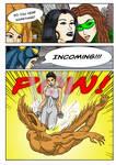 Kate Five vs Symbiote comic Page 190