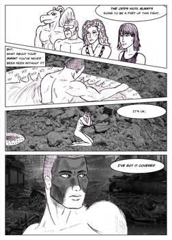 Kate Five vs Symbiote comic Page 213 by cyberkitten01