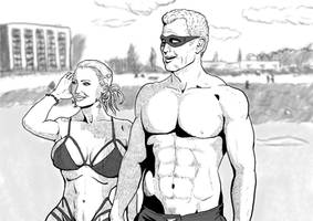 Super Bachelor - Max and Lori by cyberkitten01