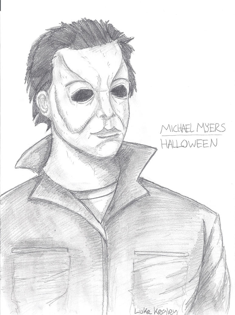Michael myers 2010 by halloween1031 on deviantart for Michael myers coloring pages