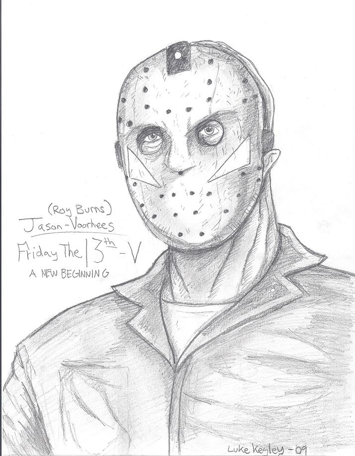 Friday The 13th Part 5 by Halloween1031 on DeviantArt Jason Friday The 13th Drawings
