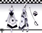Half Reference Sheet: Banded Onyx