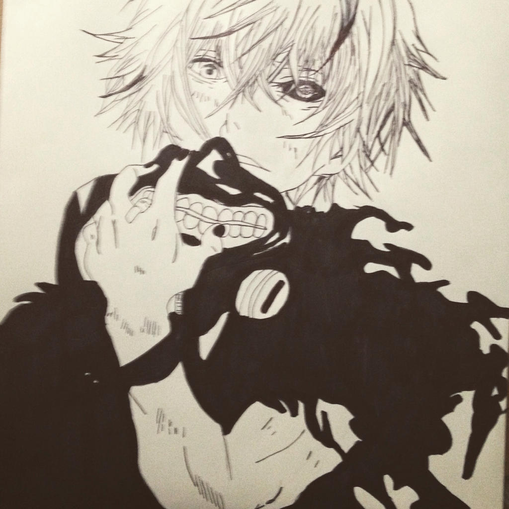 Kaneki Ken Drawing By Ulquiorra-Cifer33 On DeviantArt