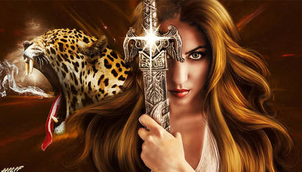 Lady Warrior by HILIF