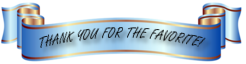 Thank You For Fave Banner By Sugaree33 Art-d6wmmmo by HILIF