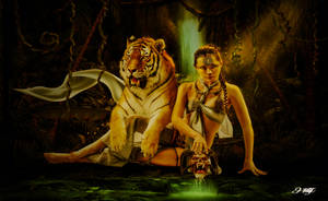 Jungle Queen by HILIF