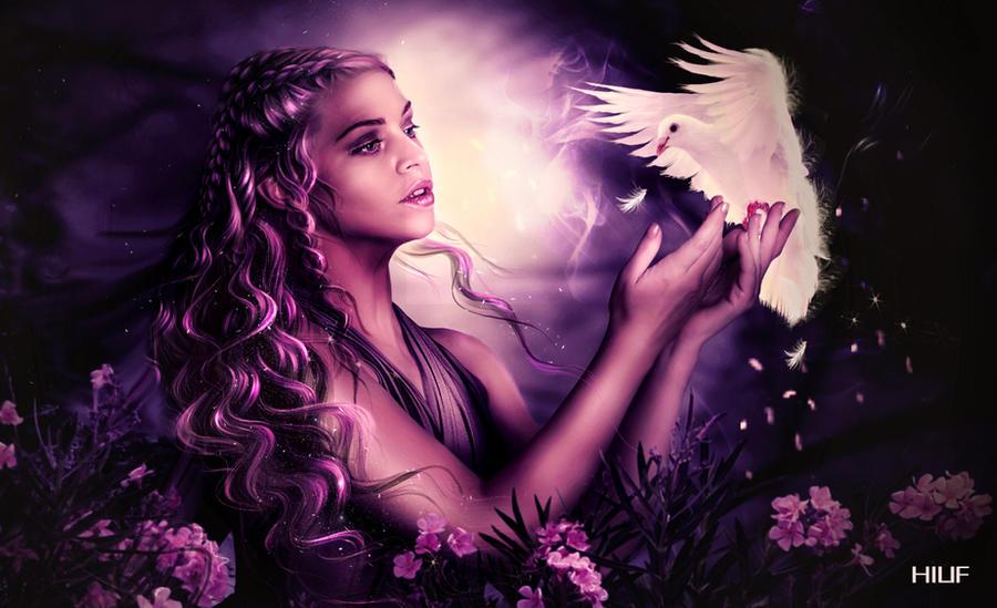My beautiful dove