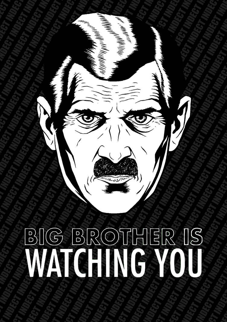 BigBrother is watching You ! by OpGraffiti