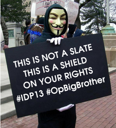 This is not a slate This is a shield on ur rights