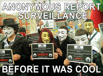 Anonymous report surveillance.. Before it was cool
