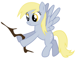 Derpy Hooves *Breaks a twig* by boem777