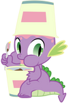 Spike *Eating ice cream*