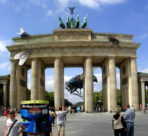Air Strike at Berlin