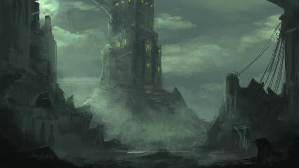 castle concept art by - photo #34