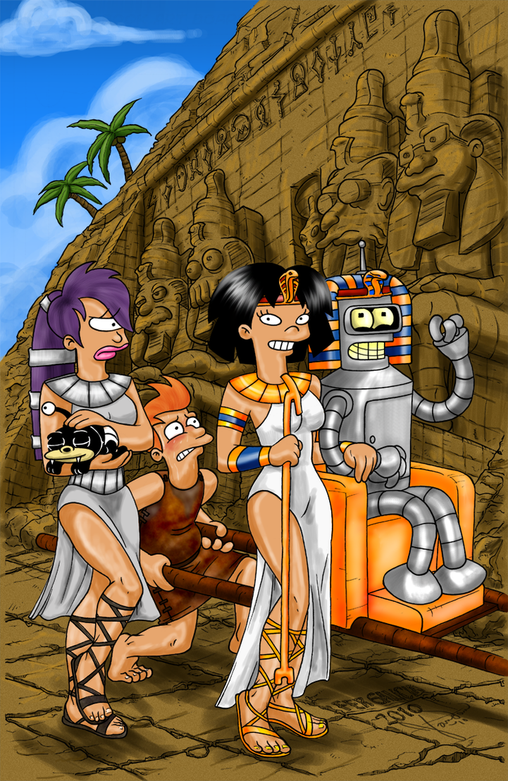 Egyptian Futurama by Songficcer
