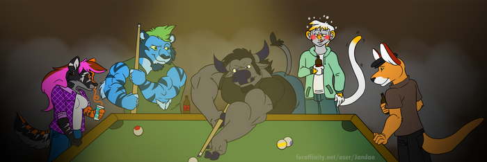 Billiards at the Bar