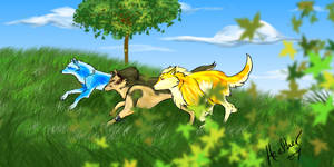The wolves of Hyrule