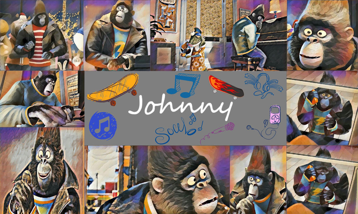 Johnny The Gorilla Wallpaper By Baloorule58 On DeviantArt