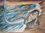 Mermaid and the shell by Paskylife