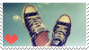 Shoe Stamp 2 by RaiynClowd