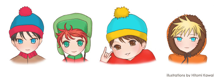 SOUTH PARK moe version??? by HitomiKawai