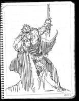 Barbarian by MGuevara