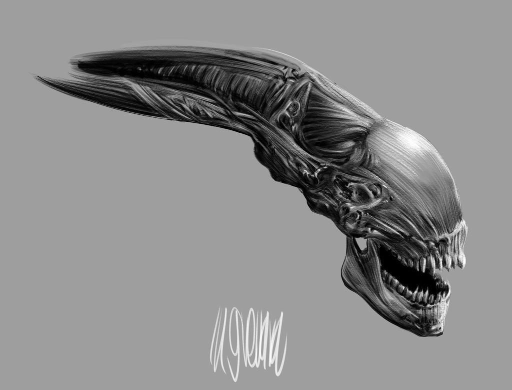 Alien by MGuevara