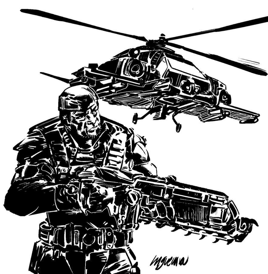 Gear of war by MGuevara
