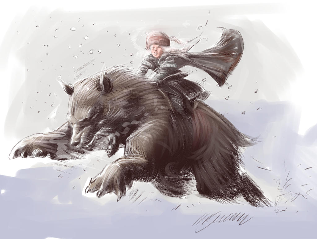 Russian Bear by MGuevara