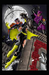 BatgirlCatwoman .Color test.