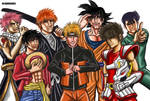 The greatest Japanese Heroes