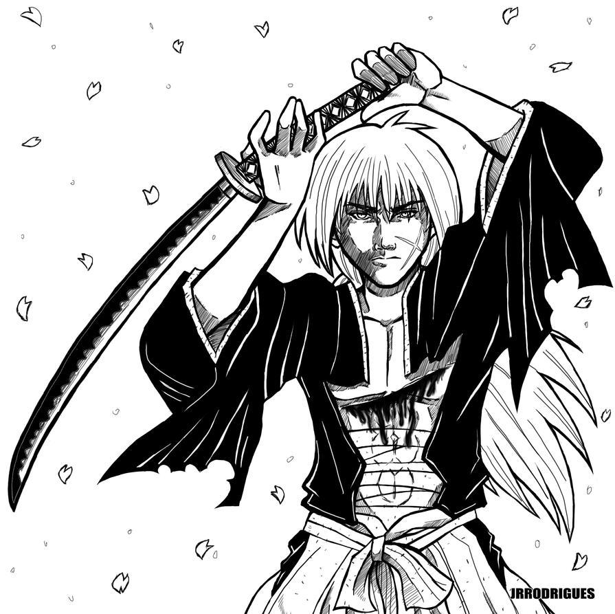 Himura Kenshin By Junior-Rodrigues On DeviantArt