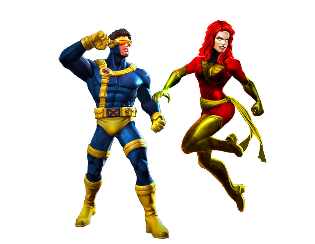 X Men 90's Couple by Junior-Rodrigues