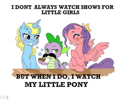 Spike's Moustache...MLP thingy