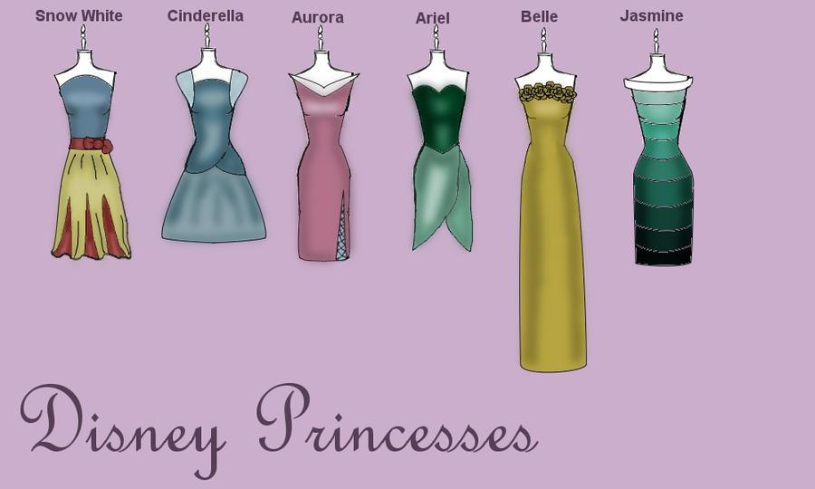 Disney Princess-Inspired by TheWhiteSwan on DeviantArt