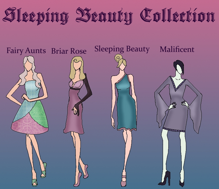 Sleeping Beauty Collection by TheWhiteSwan