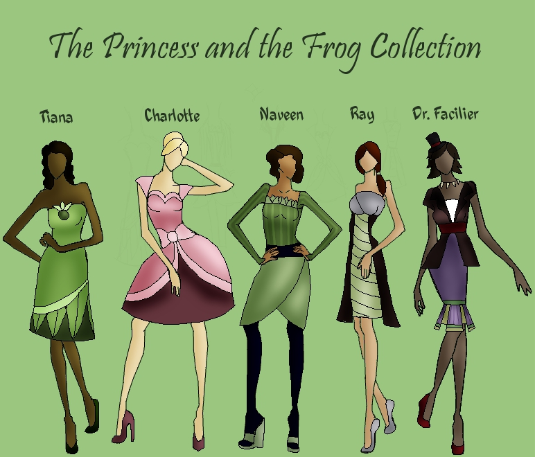Princess and Frog Collection by TheWhiteSwan